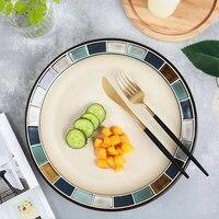 plate vajilla dinnerware ceramic tableware platos western dishes dessert plateau steak plates salad plate assiette %d0%bf%d0%be%d1%81%d1%83%d0%b4%d0%b0 %d1%82%d0%b0%d1%80%d0%b5%d0%bb%d0%ba
