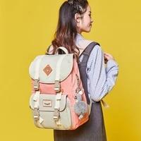 school teenagers girls backpack womens high capacity travel necessary laptop umbrella cosmetic organize knapsack accessories