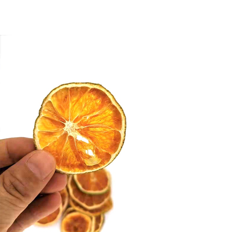 Natural Dried Pressed Fruit Orange Slices for Resin Casting Jewelry Making Craft Decoration Accessories 10pcs