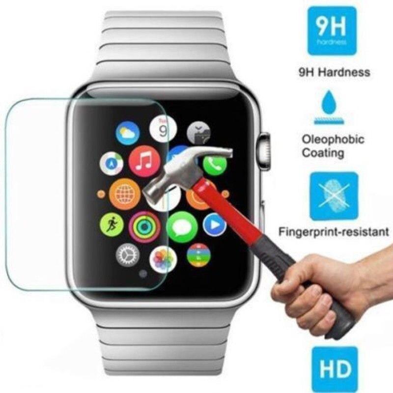 Protector de pantalla de Cristal templado para Apple Watch, 2 uds., 1,...