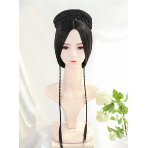 70cm beautiful chinese ancient female hair products for studio photography vintage lady cosplay accessories princess headwear