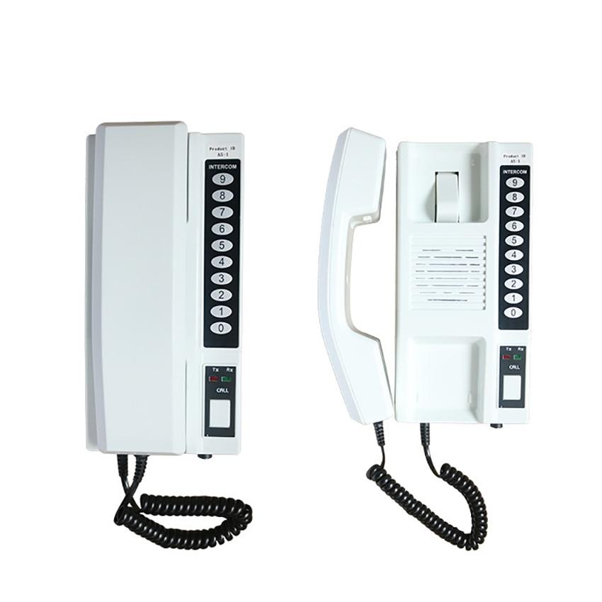نظام جهاز اتصال داخلي لاسلكي في الوقت الحقيقي اتصال ثنائي الاتجاه ، مع صوت عالي الدقة ، اتصال داخلي لاسلكي للمنزل والمكتب