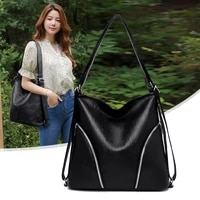 big soft leather shoulder bags for women large capacity messenger bag luxury brand design handbags ladys all match crossbody bag