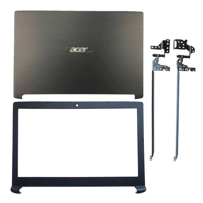جديد لشركة أيسر أسباير 7 A715-71G A715-71 A715-71G-71NC سلسلة المحمول LCD الغلاف الخلفي الأمامي LCD مفصلات البلاستيك أعلى حالة الأسود