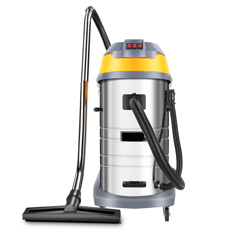 vacuum cleaner for car wash, industrial powerful large suction 3KW large factory workshop commercial water suction machine