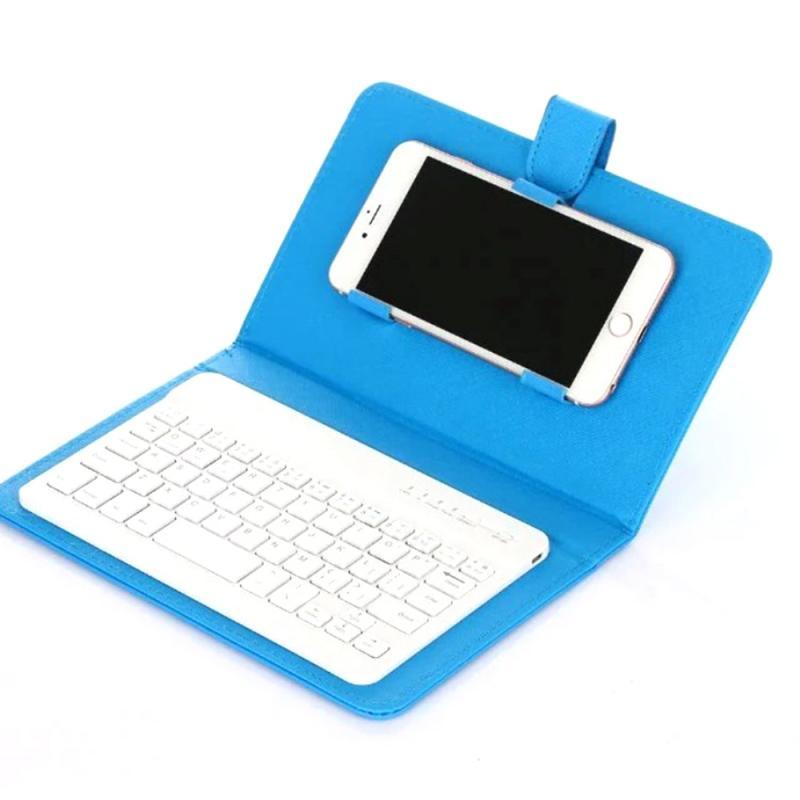 Mini teclado plegable Bluetooth teclado inalámbrico plegable con Touchpad para Windows,Android, tableta ios ipad Phone