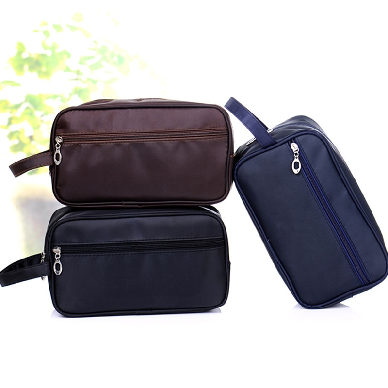2021 Men Women Wash Bag Cosmetic Bags Admission Package Travel Pouch Simple Waterproof Toiletry Kits 602315