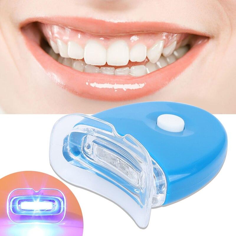 ¡Novedad! Luz LED azul para blanquear los dientes, acelerador de luz UV, herramienta de luz láser, cosmética dental, láser, nueva belleza y salud femenina