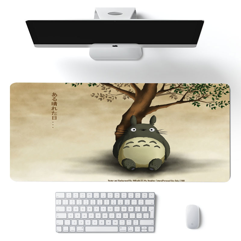 900x400x2mm Totoro Mouse Pad Mouse Mat Carpet Laptop Big Padmouse Notbook Computer Gaming Mousepad G