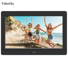 Cadre Photo numérique 7 pouces écran HD LCD 1280*800 pleine fonction cadre Photo numérique réveil MP3 MP4 musique lecteur vidéo