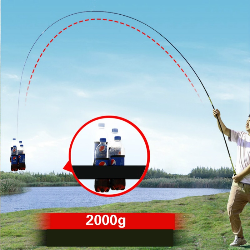 3.6m-7.2m Taiwan Wedkarstwo Olta High Carbon Fiber Carp Fishing Pole Super Light Super Hard 28 Tonalty Hand Canne Fishing Tackle enlarge