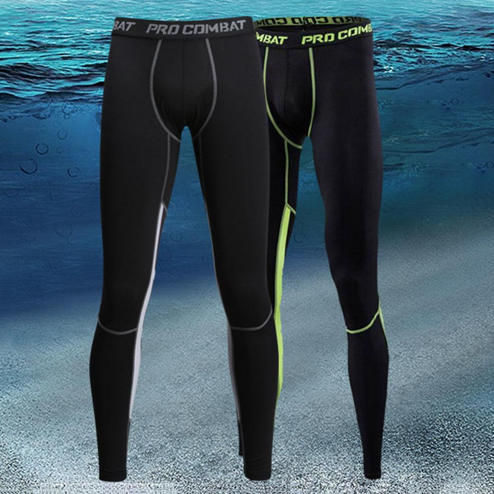 Compression Pants Mens Leggings Tights Men Sport Pants Fitness Sports Leggings Man Running Pants Quick Dry Men Pants