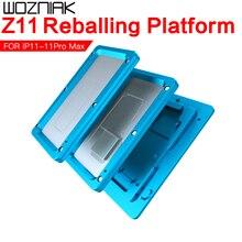 JC AiXun Z11 Mittleren Rahmen Reballing Plattform Geeignet für Iphone 11 11Pro 11Pro Max matherboard PCB Reparatur Löten Leuchte