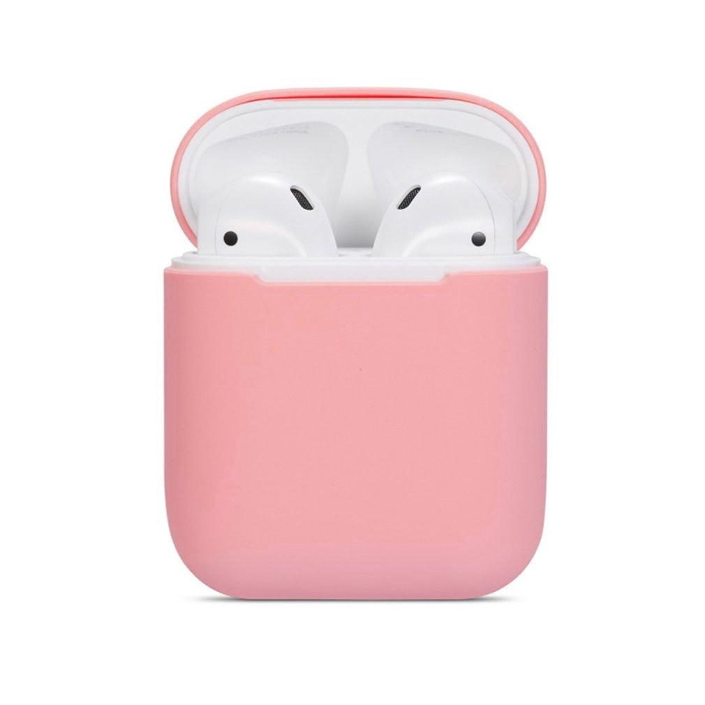 Para Apple para Airpods One y Two Generation Universal Silicone Case auriculares inalámbricos impermeable caja de protección de auriculares