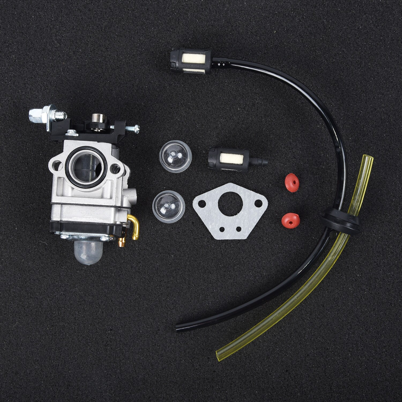 Carburettor W/ Primer Bulb Kit For Strimmer Hedge Trimmer Brush Cutter Chainsaw
