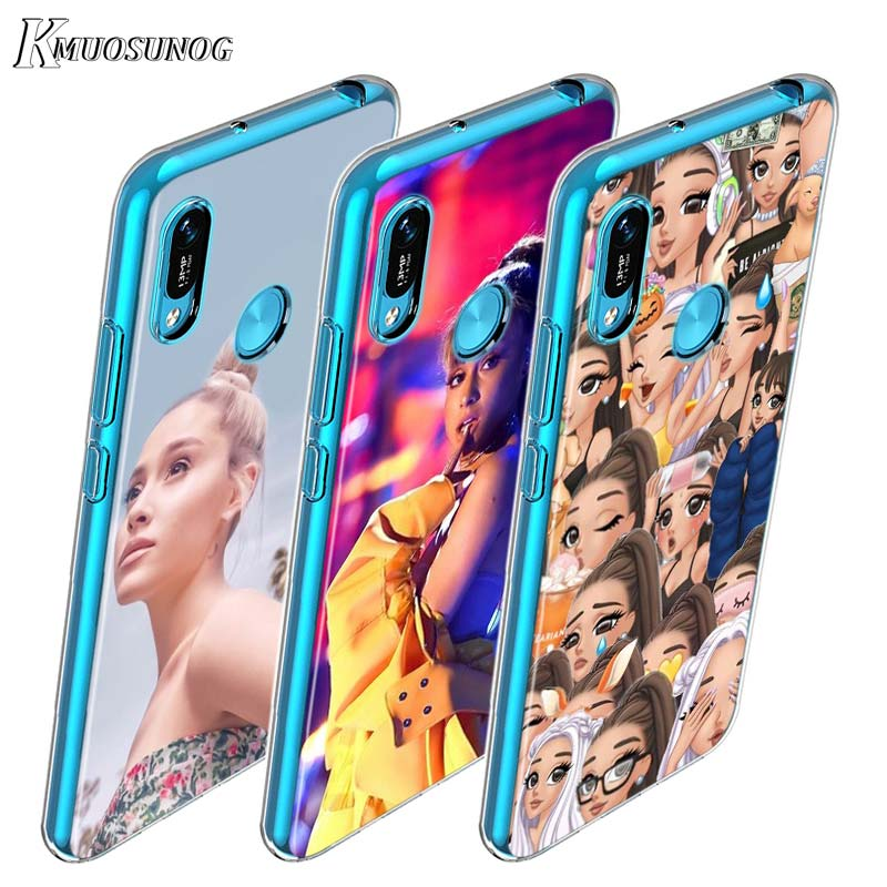 for Huawei Y9 Y7 2019 TPU Soft Cover Ariana Grande for Huawei Y9 Y7 Y6 Y5 Pro Prime Lite 2019 2018 Phone Case