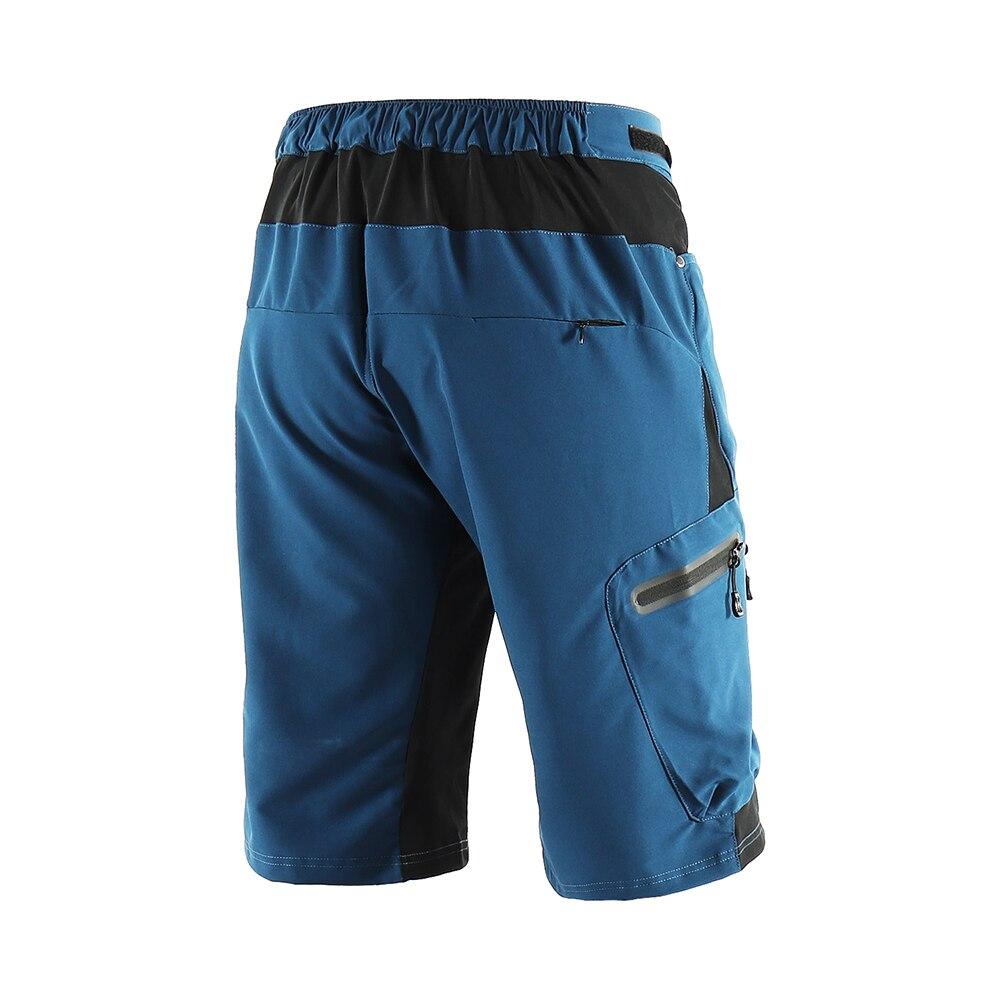 Pantaloncini da ciclismo MTB da esterno per Mountain Bike da uomo pantaloncini da ciclismo pantaloncini da bici sportivi resistenti all'acqua vestibilità ampia
