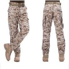 Gros haute qualité A-TACS FG ACU CP couleur noire Ripstop pantalon militaire uniforme tactique désert camouflage chasse pantalon Style BDU