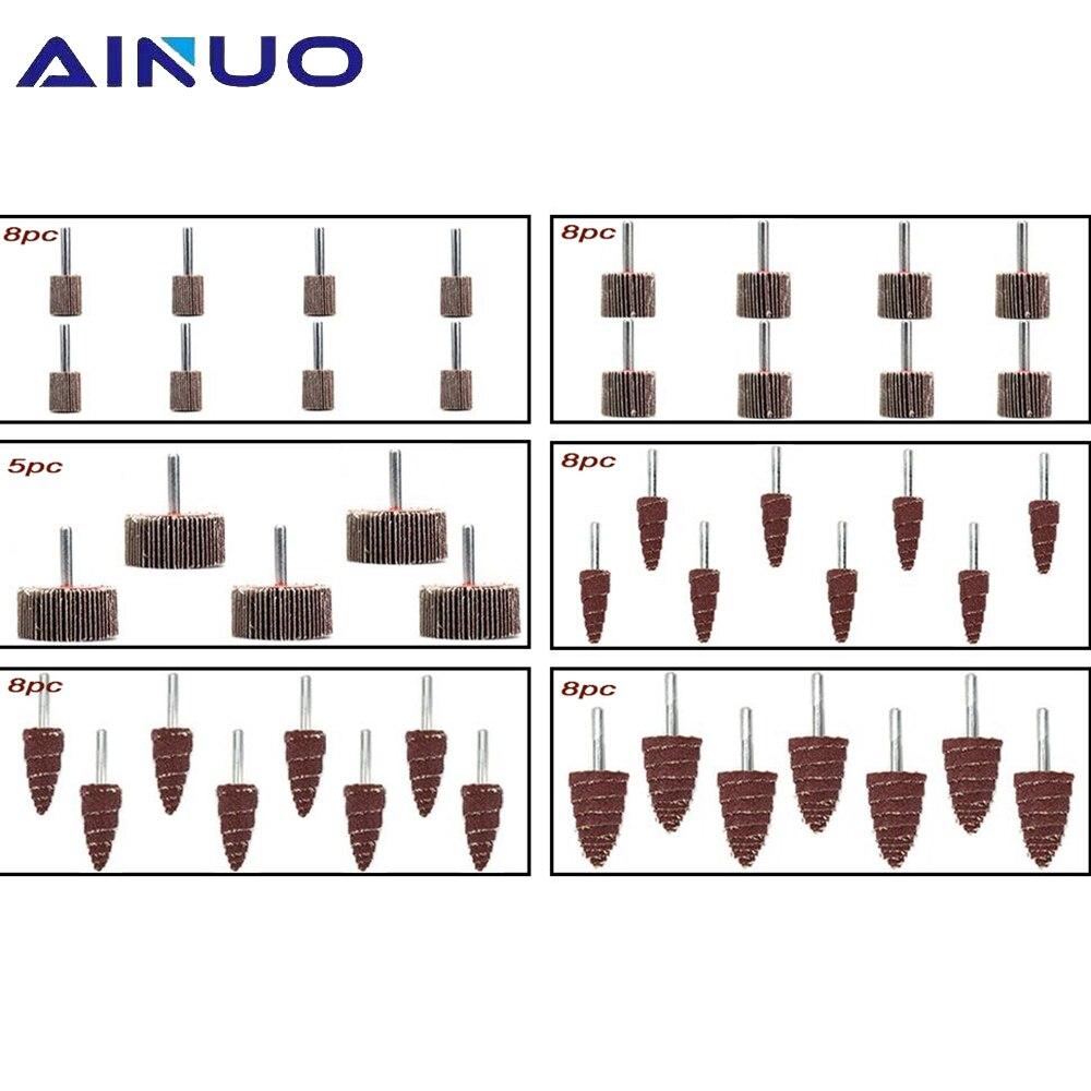 Абразивные шлифовальные диски 45 шт., шлифовальные круги из оксида алюминия для удаления ржавчины и сварки
