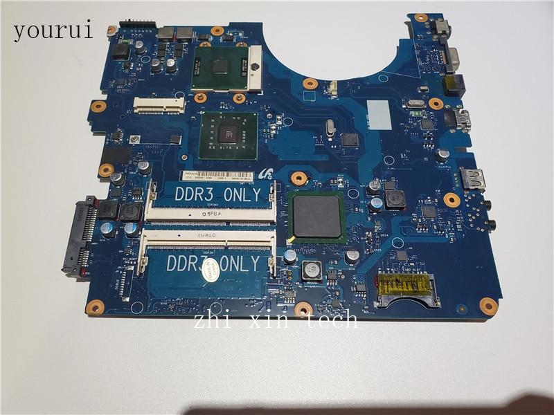 Yourui لسامسونج R530 NP-R530 Laptopmotherboard BA92-06336B BA92-06336A BA41-01223A DDR3 اختبار موافق