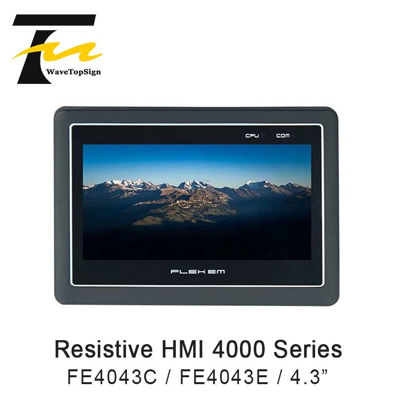 FLEXEM resistivo HMI 4000 Series FE4043C FE4043E interfaz humana 4,3 pulgadas 169 TFT LCD DC24V 3W