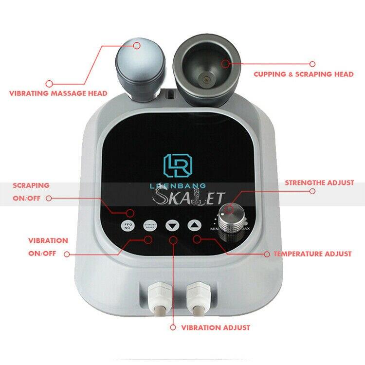 Grattage électrique corps ventouses Massage GuaSha Anti Cellulite brûleur de graisse pompes daspiration sous vide appareil de thérapie