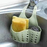 Sac de vidange a boucle reglable  1 piece  cuisine salle de bains etagere de rangement  bouton reglable  sac de vidange  robinet eponge deau  outil pratique de sechage de leau filtree