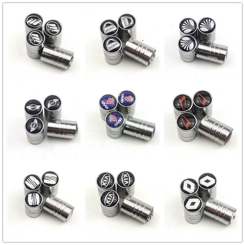 Tapas de válvulas de neumáticos de rueda de coche de alta calidad para Mitsubishi ASX Lancer Outlander evo accesorios para automóviles de motocicleta