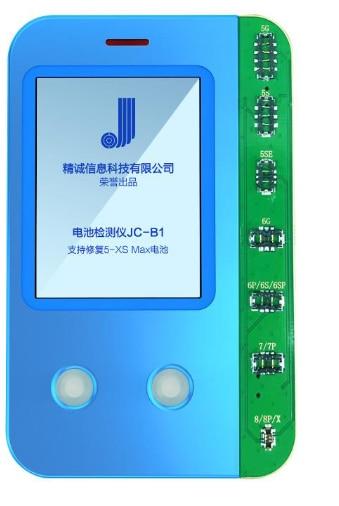 Probador de batería JCID-B1, herramienta de reparación para iPhone 5, 5s, 5SE, 6, 6P, 6S, 6SP, 7, 7P8, 8P, X, XR, XS, XSMax, jc b1