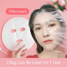 Disposable Plastic Film For Face Fresh keeping Film Mask Ultra Thin Skin Care Paper Beauty Salon Pro