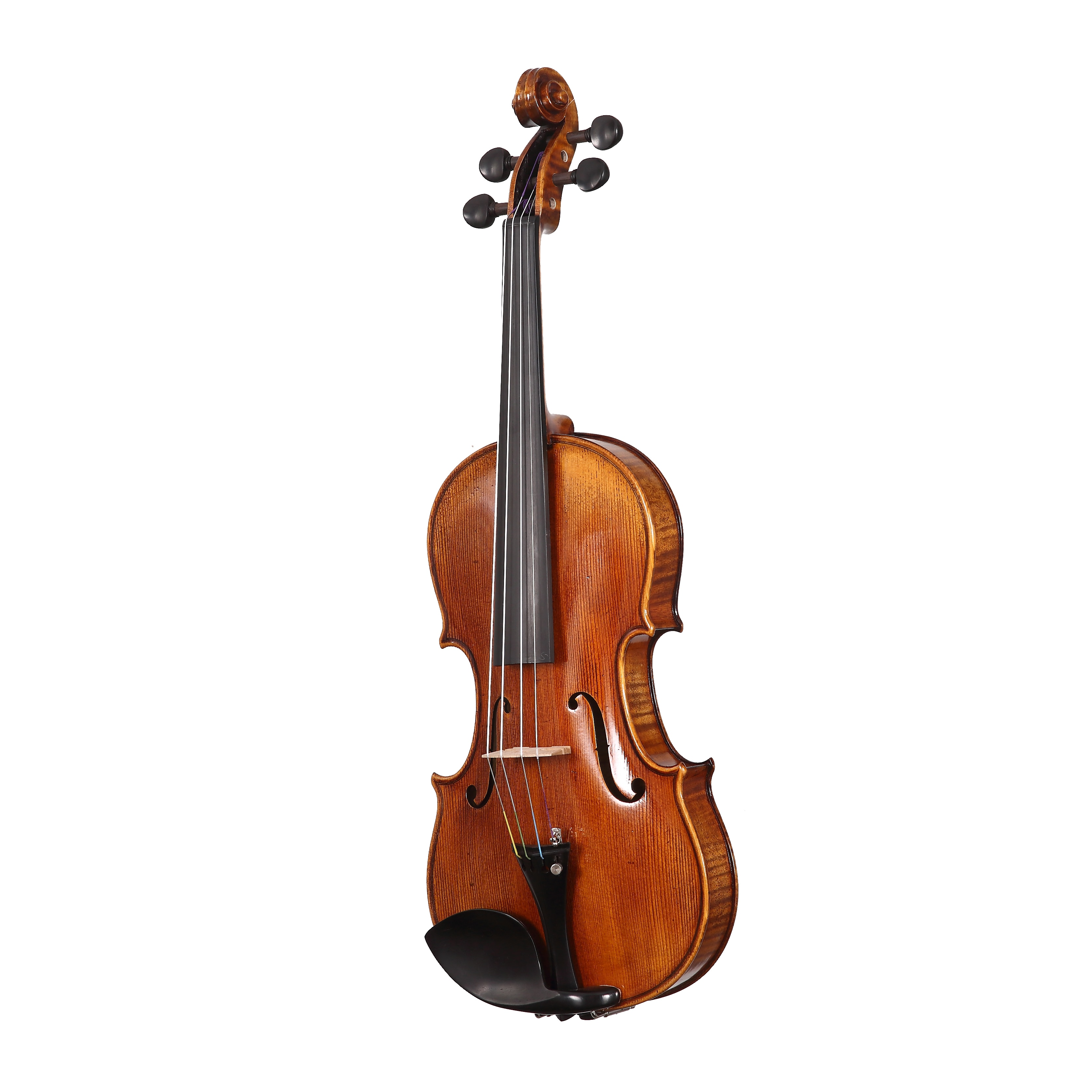 Free Shipping Copy Stradivarius 1715 100% Handmade Oil Varnish Violin + Carbon Fiber Bow  Foam Case violin  FP02 enlarge