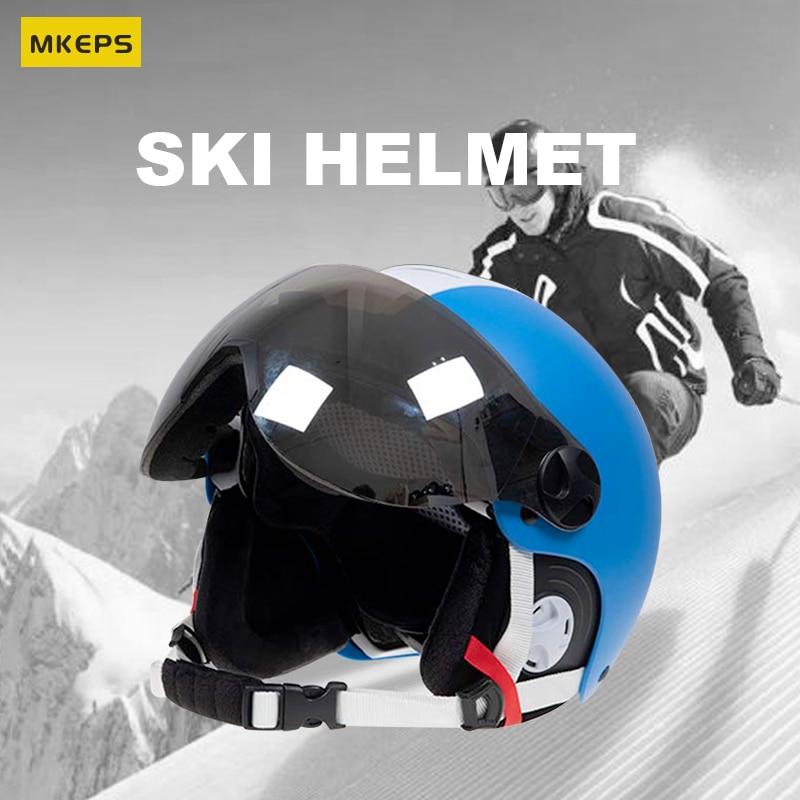 MKEPS Ski Helmet - Snowboard Helmet for Men, Women & Youth