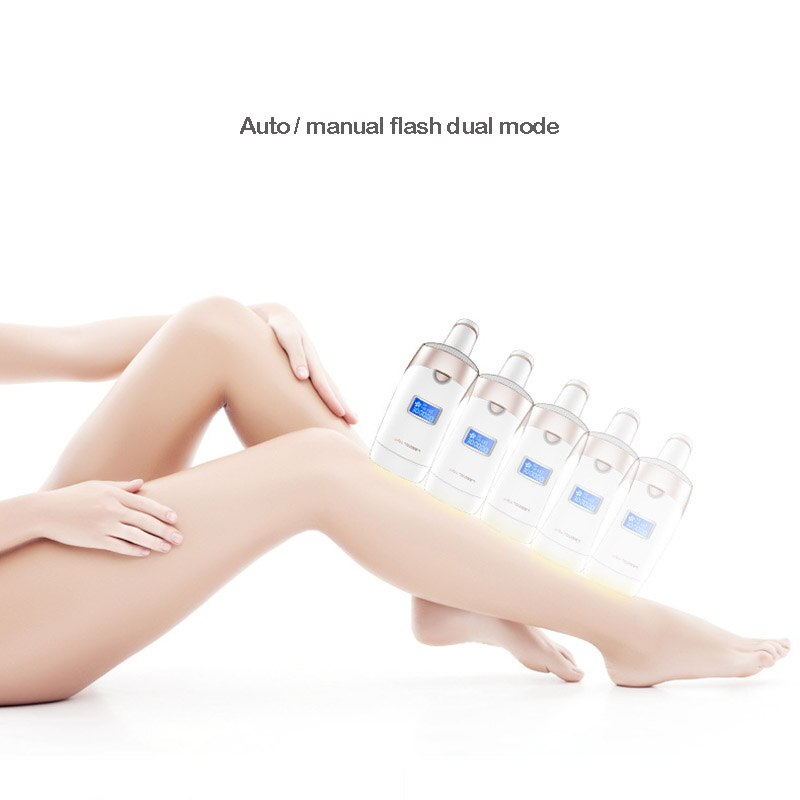 IPL Laser Hair Removal Instrument Painless Permanent Electric Epilator LCD Display Home Pulsed Light Body Hair Removal Device enlarge