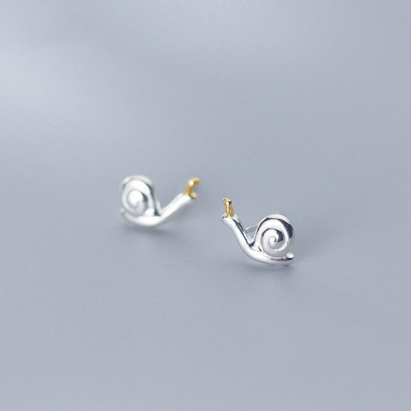 2020 brincos de moda nova moda pura e fresca silenciosamente elegante simples e adorável senhora caracol orelhas para mulher