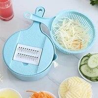 portable vegetable and food cutter manual garlic puller fruit chopper multi function meat grinder vegetable cutter kitchen tool