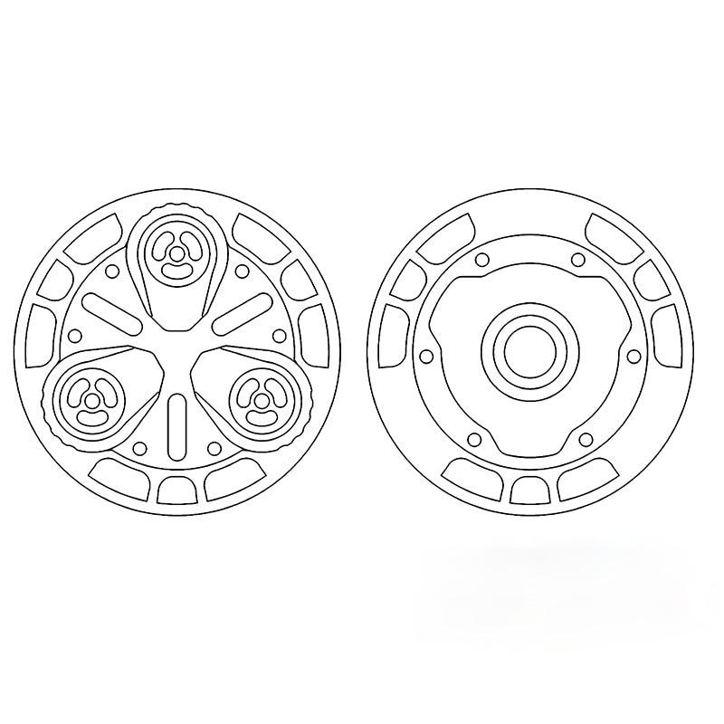 Quantum PPB Coin 2020 Luminous Fiber Propeller Ppb Magnetic Sound Coin Tide Play Ammo Joint Mfedc Titanium Alloy enlarge