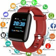 Sport Couple intelligent montres portable étanche podomètre Bluetooth fréquence cardiaque surveillance du sommeil pour enfants hommes et femmes regarder