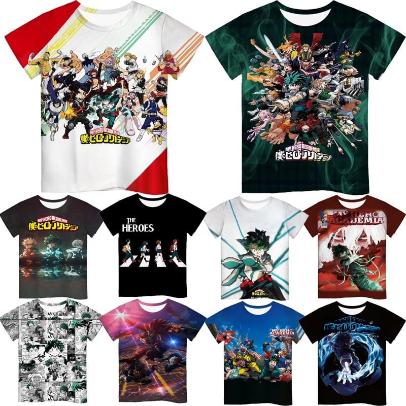 Camisetas de la temporada 5 DE Boku No Hero Academia para niños,...