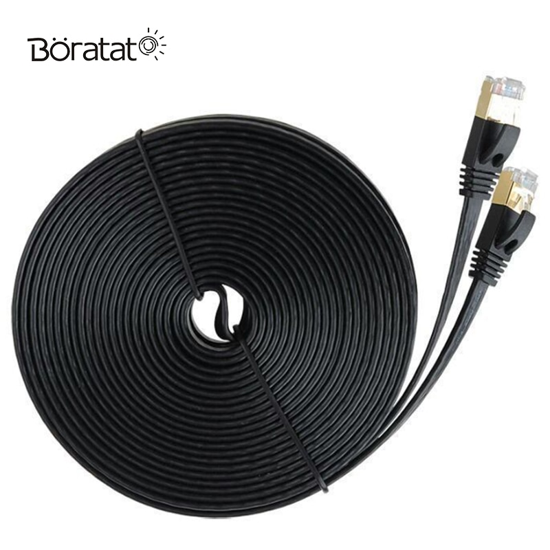 Cat7 Cable Ethernet RJ45 Cable de red para Router Cable de conexión...
