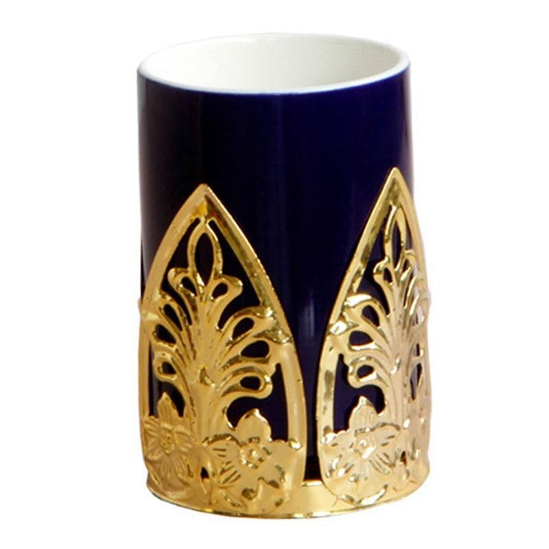 Nordic Makeup Brush Storage Tube Jewelry Storage Ceramic Jar Storage Box Porcelain Bottle
