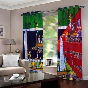 Creative Photo Curtains Blackout Printing Kids Room Curtain Drapes Living Room Bedroom Drapes Custom any size