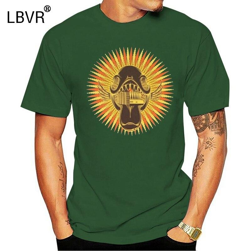 Phish 2002 2003 Neue Jahre Eve Tour Grafik T-Shirt Mens Medium Grün Homme Plus Größe T-shirt