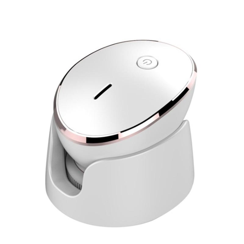 الكهربائية سيليكون فرشاة تنظيف الوجه سونيك الاهتزاز تدليك لاسلكي تهمة منظف للوجه آلة أداة العناية بالبشرة