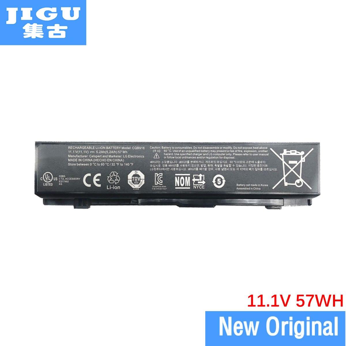JIGU CQB914 E217462 SQU-1007 SQU-1017 EAC61538601 Original Laptop Battery For LG N560-P N560-X P420-K PD420-L S525 SD550-E