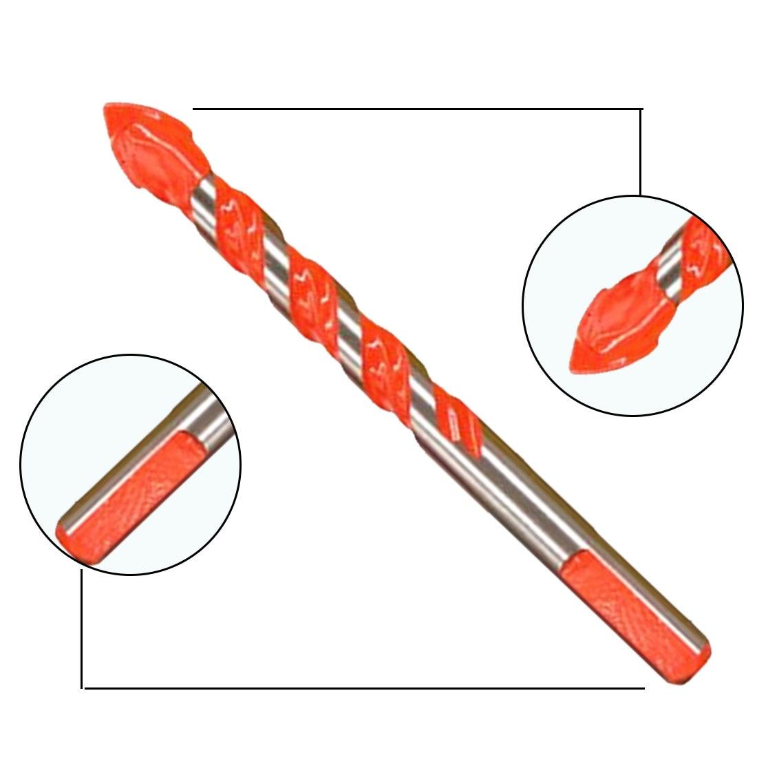 Herramientas Eléctricas de 6mm-12mm 1 Uds. Martillo de perforación de diamante para concreto, azulejo de cerámica, vástago redondo de Metal, taladro de Sierra de pared DIY