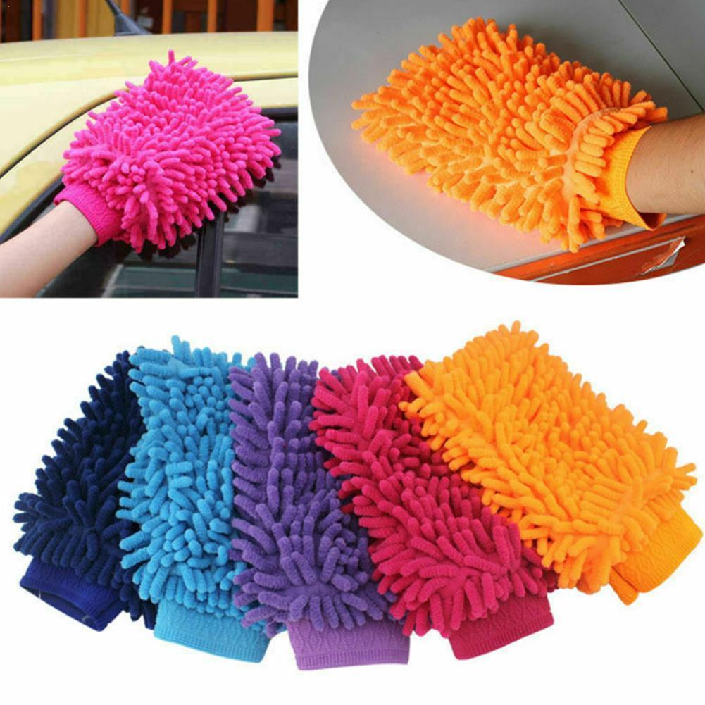Guantes de secado para limpieza de coche, herramienta de limpieza de ventanas,...