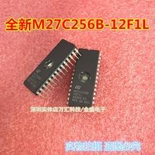 Nuevo en stock 10 unids/lote M27C256B M27C256B-12F1 27C256 DIP28 coche memoria EEPROM Chip envío gratis