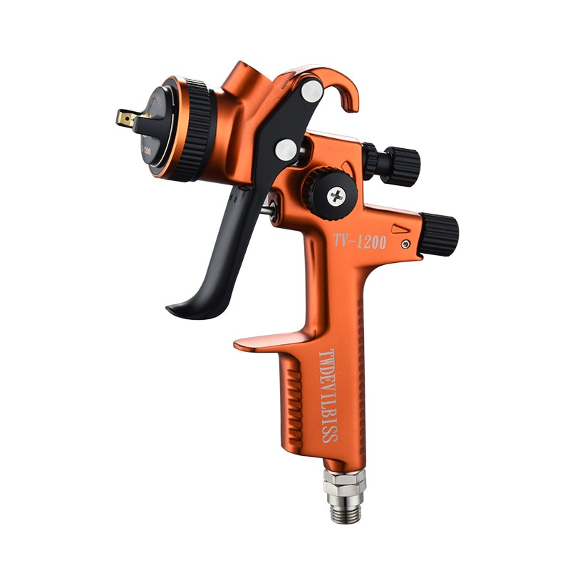 Professional Spay Gun 1.3mm Nozzle Gravity Airbrush For Painting Car Aerograph Pneumatic Gun