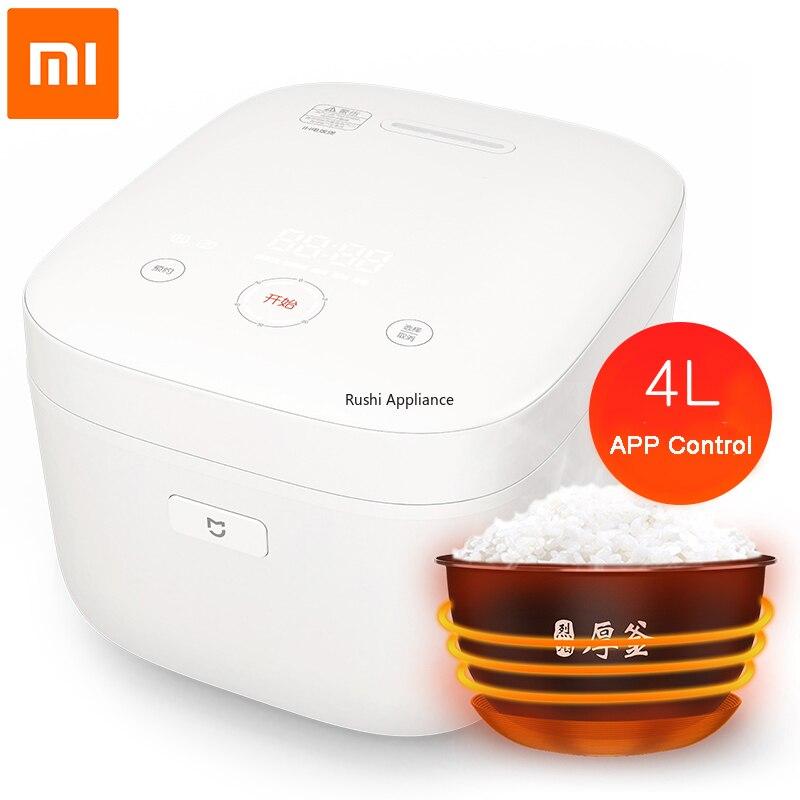 Xiaomi Cocina eléctrica Original IH 4L de aleación antiadherente, cocina de calefacción inteligente, mi aplicación para hogares, WiFi, cocinas de Control remoto IHFB02CM