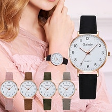 new Simple style dial business watch for women Luxury Temperament Ladies Belt Watch Analog Luminous